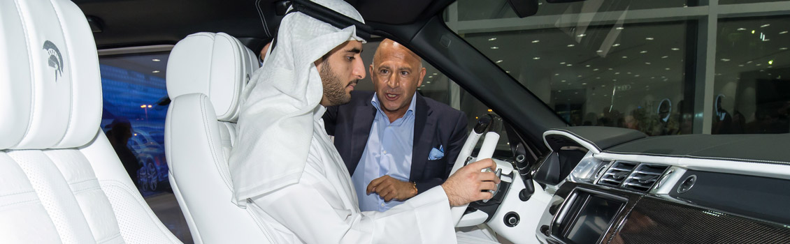 ARES Performance Dubai Showroom opening